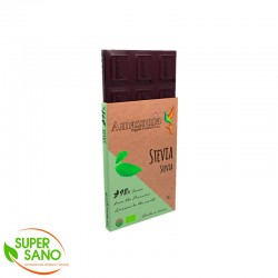 CHOCOLATE DARK 98% WITH STEVIA - 100 GR - AMAZONIA ORGANIC PRODUCTS