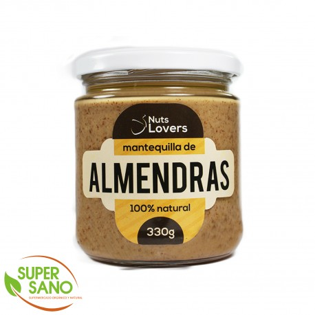 MANTEQUILLA DE CASHEWS - MANTEQUILLA NATURAL - 330 GR - NUTS LOVERS