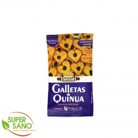 GALLETAS INTEGRALES DE QUINUA – SNACKS - 70 GR – TANTACHA