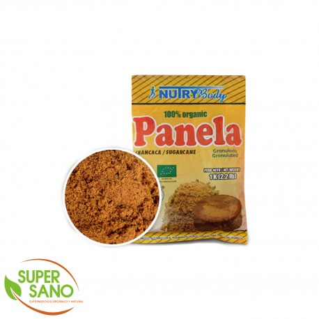 PANELA ORGÁNICA - ENDULZANTE - 1 KG - NUTRY BODY