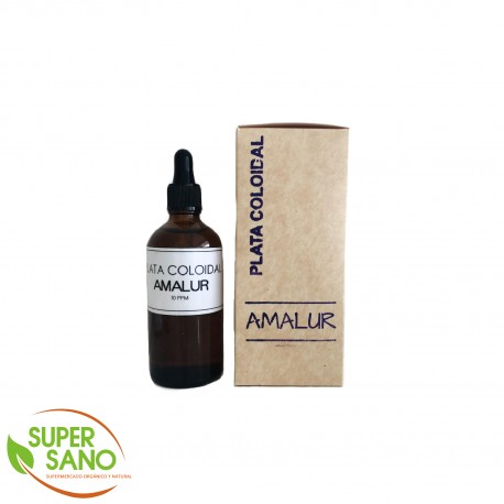 PLATA COLOIDAL – MEDICINA NATURAL – 100 ML – AMALUR PERÚ
