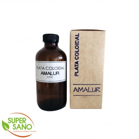 PLATA COLOIDAL – MEDICINA NATURAL – 250 ML – AMALUR PERÚ