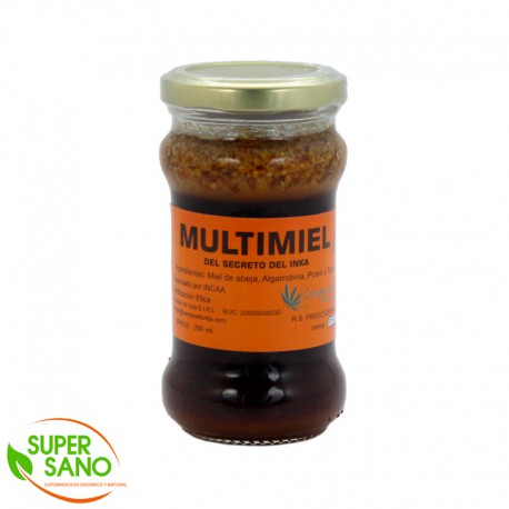 MULTIMIEL - ENDULZANTE - 250 ML - CAMPOS DE VIDA