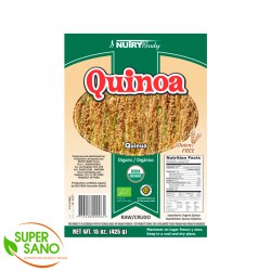 QUINUA BLANCA - GRAINS AND DERIVATIVES - 425 GR - NUTRY BODY